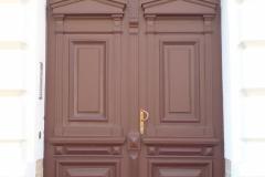 Haustür, saniert