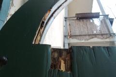 Durchfahrtstor, repariert und komplett saniert