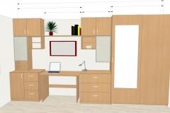 Planung Jugendzimmer-Schrankwand