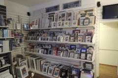 Fotogeschäft, Ladenausbau mit Präsentationswänden