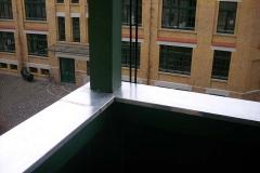 Balkonsanierung, Holzerneuerung und Blechabdeckung