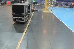 Reparatur Ballsportboden Arena