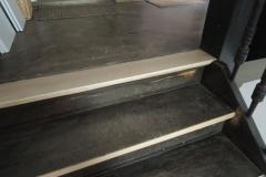 Treppensanierung, neues Holz einsetzen